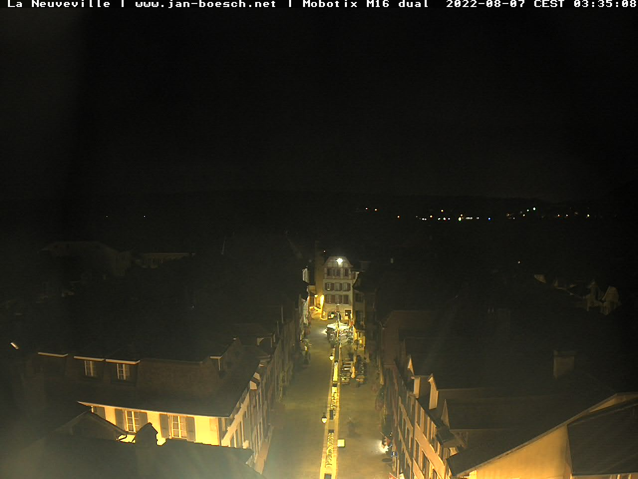 Webcam de La Neuveville (Tour Rouge, vue direction Sud)